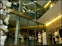 The Queen at the London Stock Exchange