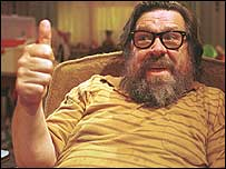 Ricky Tomlinson playing ultimate slob Jim Royle in the Royle Family