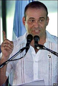 Salvatore Mancuso, miembro del Estado Mayor de las AUC