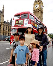 Toko and family