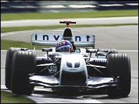 Williams are still looking for a second driver for 2005 alongisde Mark Webber to replace Juan Pablo Montoya (pictured) and Ralf Schumacher