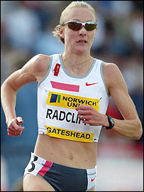 Radcliffe is determined to strike gold in Athens