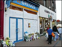 Greggs - scene of stabbing