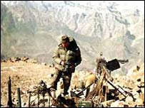 Indian soldiers in Kargil