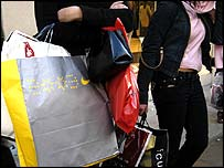 Almost �200m was spent on handbags in 2002