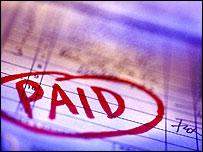 A paid bill