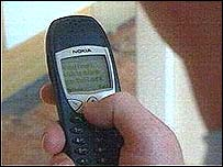 Image of a mobile phone