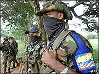 Efectivos paramilitares