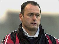 Longford Town manager Alan Mathews