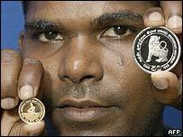 Sri Lankan gold and silver commemorative coins