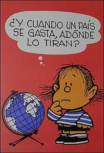 Guille, el hermanito de  Mafalda (Copyright Quino)