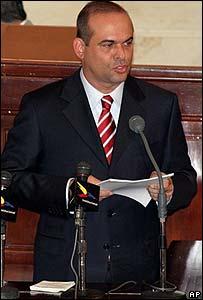 Salvatore Mancuso, del Estado Mayor de las Autodefensas Unidas de Colombia.