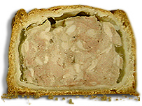 A Melton Mowbray pork pie