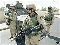 Coalition troops in Iraq