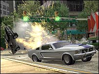 Screenshot from Burnout 3