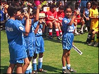 India's youth coaching set-up is haphazard. Copyright Mike Geddes.