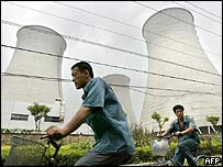 A power station on the outskirts of Beijing (29/07/04)