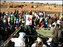 Darfur refugees