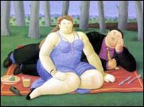 Obra de Botero (Copyright: Fernando Botero)
