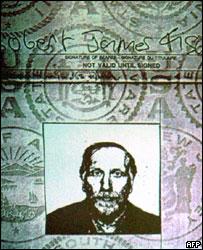 El pasaporte de Bobby Fischer