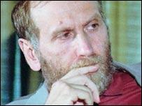Close-up of Bobby Fischer