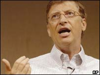 Bill Gates, Microsoft chairman and chief software architect, AP