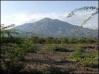 Mountain range in Ethiopia