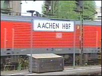 Aachen railway station