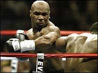 Former world champion Mike Tyson