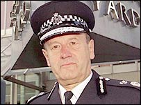 Metropolitan Police Commissioner Sir John Stevens