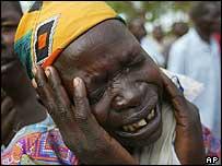 Desplazada ugandesa