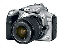 Canon EOS 300D camera