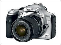 Canon EOS 300D camera