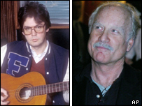 Mike Read and Richard Dreyfuss