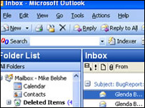 Lookout email search, bought by Microsoft earlier in 2004