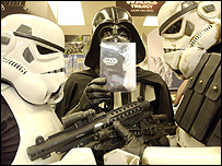 Star Wars DVD promotion
