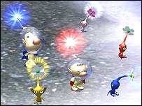 Screenshot of Pikmin 2