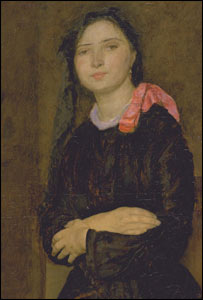 Dorelia in a Black Dress c. 1903-4 (picture courtesy Tate Britain)