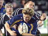 Brian O'Driscoll scored Leinster's third try