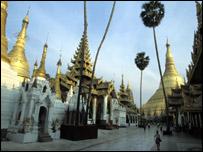 Rangún, Birmania.