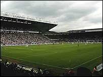 Leeds' Elland Road stadium