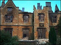 Nocton Hall, copyright Peter J Murray