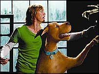 Scooby and Shaggy in Scooby Doo 2: Monsters Unleashed