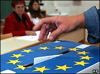 Voting on the new EU constitution