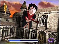 Screenshot from PlayStation Harry Potter game