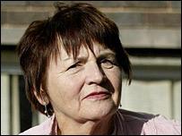 Hunt saboteur Wendy Bridle