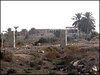 The former al-Qaqaa weapons complex near Baghdad