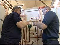 Gas fitter training