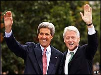 Clinton with Kerry