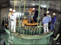 Bushehr reactor in Iran